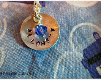 Allons-y!: Doctor Who Necklace