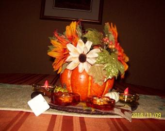 Harvest Table Centerpiece
