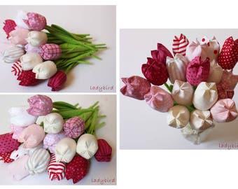 Teacher gift-big fabric bouquet