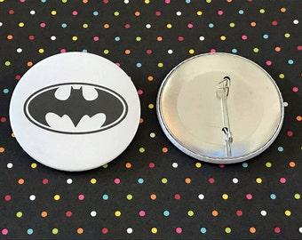 Batman Pin Button / Pin Buttons /Pin Badge