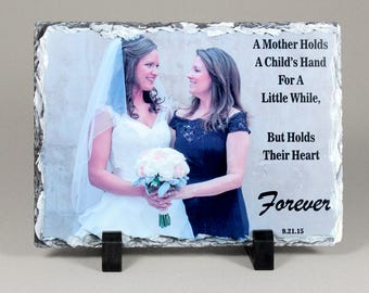 Personalized Mother's Day Rectangle Photo Slate