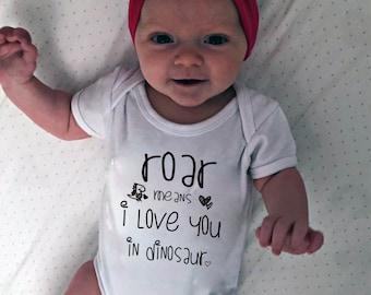 Dinosaur Onesie ®, dino baby, Dinosaur, dinosaur birthday, dino birthday, rawr, dinosaur love, baby girl, baby boy, Dinosaur toddler, shirt