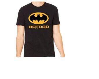 BatDad T=shirt //Batman Dad Shirt