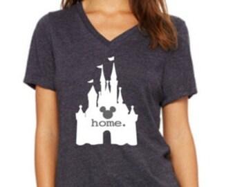 "Ladies Tee ""Disney castle"""