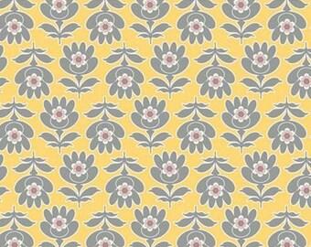 Art Gallery Fabrics Floressence Floresta in Yellow Quarter Yard