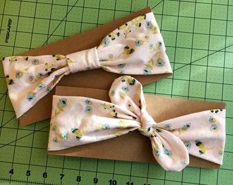 Pastel Floral Set || Mommy & Me Line || B.Mesi Headband