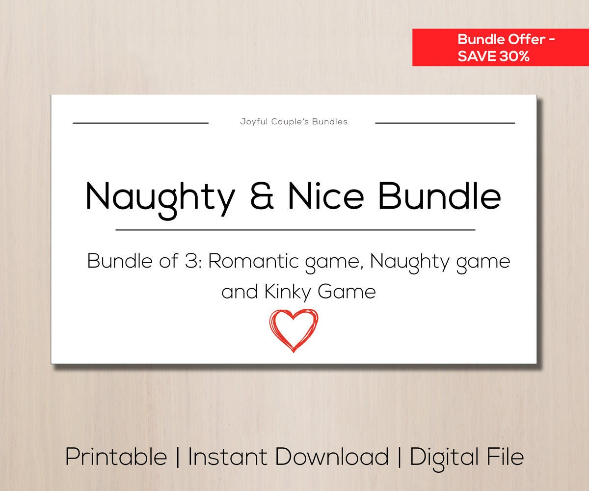 Naughty Bundle Sex Ideas Sale Item Bundle Gift Boyfriend