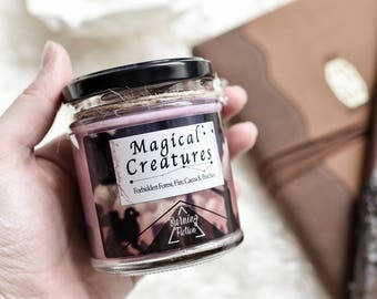 Magical Creatures Candle