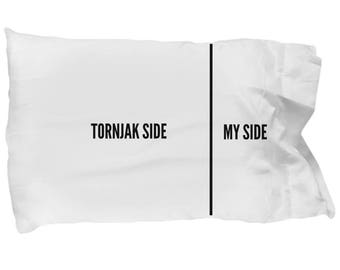 Tornjak Pillow Case - Funny Tornjak Pillowcase - Tornjak Gifts - Tornjak Dog Side My Side