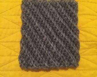 Crooked Crochet Coffee Cozy