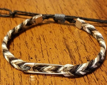 Adjustable Hemp Bracelet
