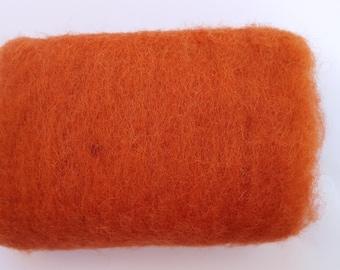 Merino Wool Roving - Cedar - 1 oz
