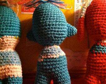 Cotton Crochet Doll - Handmade- One of a Kind- Amigurumi