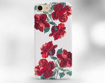 iphone 7 plus case roses iphone 6 case floral iPhone 6s case red roses iPhone 6 plus case iPhone 6s case disney iPhone se case iphone 7 case