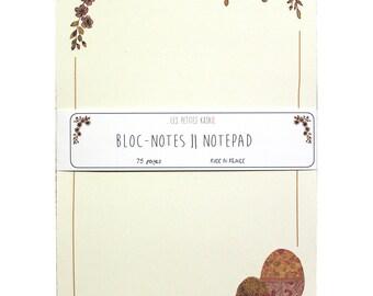 Notepad White market