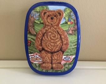 1994 Teddy Bear Character Tin