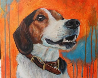 Custom Pet Portait - Acrylic Paintings from your photographs!