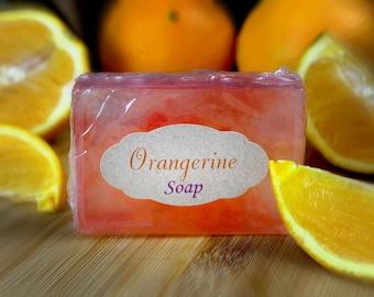 Orangerine Glycerine Soap Goats Milk Soap