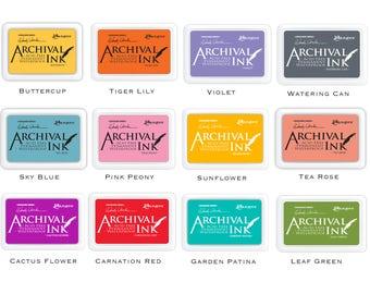 Ranger Archival Ink Pads - Wendy Vecchi Designer Series (Choose your desired colour)