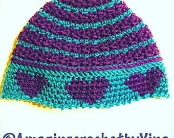 "Shop ""messy bun hat crochet pattern"" in Sewing & Needlecraft Supplies"