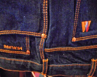 EXTRENLY Awsome Vintage Blue Jeans   80's    Size 38xLong    Made by MURJANI   Never Worn    Still With Tags On