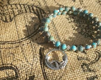 Mermaid Dreamer wrap around bracelet