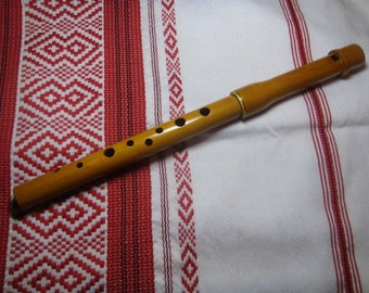 Ukrainian sopilka, wooden flute, soprano, sopilka, flute, professional, whistle, ethnic, NEW in protective case