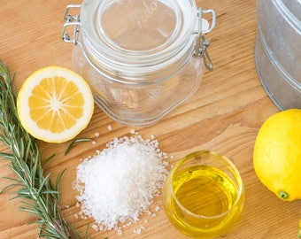 Citrus Sea Salt Scrub