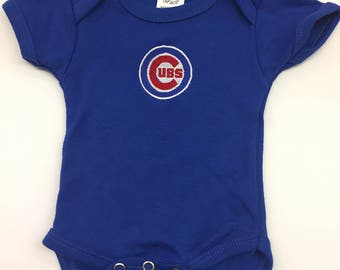 Chicago Cubs Onesie, Infant clothing, Baby Onesie, Baby Cloths, Baby Shower Gift, Chicago Cubs Clothing, Newborn Onesie, Chicago Cubs