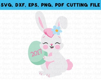 Download All the Bunnies love me Easter SVG DXF EPSPdf Png Files for