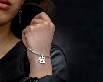 Just Be You .925 Silver Pandora Style Bracelet