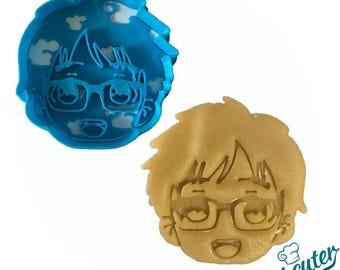 Yuri face Yuri on Ice Cookie Cutter