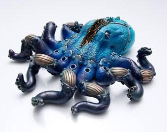 Galaxy Octopus Sculpture