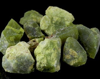 Green Opal Rough Lot 11pcs parcel deal 282.8 cts from Madagascar ~11591 | FREE WORLWIDE SHIPPING | Natural Genuine Opal, Opale, Crystal