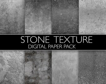 DIGITAL Stone Effect Paper Pack