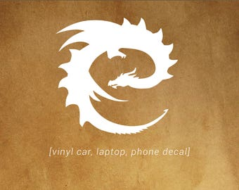 Eragon 'E' dragon logo -  car, laptop, phone decal - Eragon and Dragon Fans!