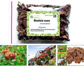 """Wild Rhodiola Rosea  """"Siberian Ginseng"""" (Golden Root)  100% Natural  50g-900g Collected the Altai Mountains"""