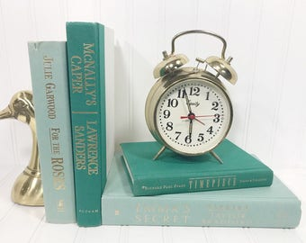 Teal and Turquoise Decorative Book Set