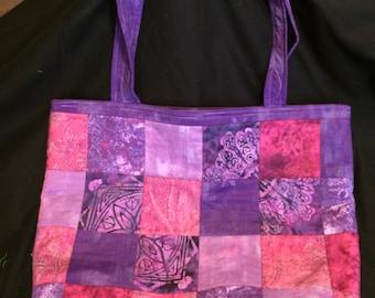 Batik Patchwork Shoulder Bag