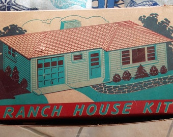 Ranch House Kit by Plasticville