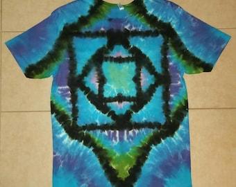 Geometric Dream Tie Dye T-Shirt