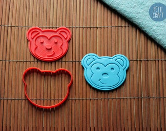 Teddy Bear Cookie Cutter, Cake and Fondant Decorate
