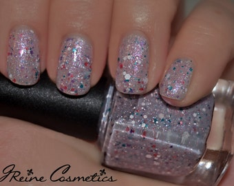 Parading - Pearl Pink Multicolored Glitter Nail Polish LIMITED EDITION