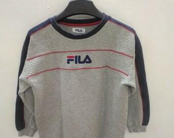 Vintage Fila Sweater Sweatshirt