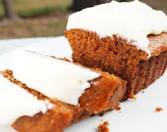 All-Natural Carrot Bread