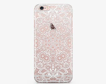 Mandala Phone 7 Case Clear Phone 7 Plus Case iPhone Phone 6s Phone iPhone 6s Plus iPhone Case 5c Phone iPhone SE Case Pixel Case ACC_172