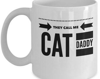 Cat Daddy Mug|Funny Cat Mug|Cat Dad Mug|Crazy Cat Daddy|Cat Lover Mug| Cat Cup|Cat Mug|Kitty Mug| Feline Dad|Kitty Cup|Cute Cat Mug
