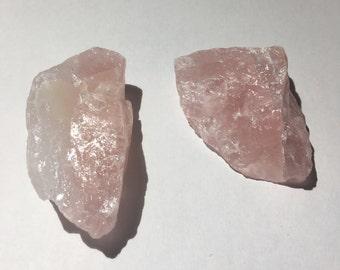 Rose Quartz Rock 60-75 gram