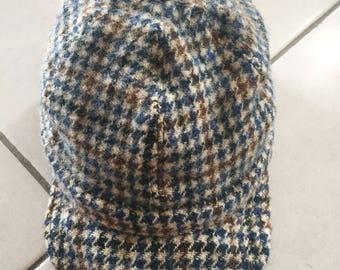 Rare 100th Anniversary Harris Tweed Cap Limited Edition