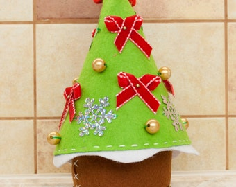 Christmas basket for sweets